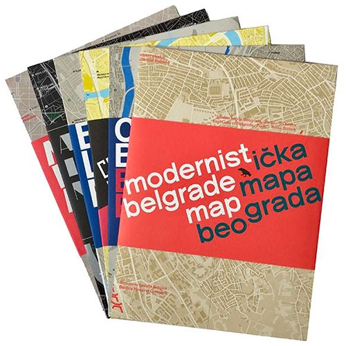 Blue Crow Media Maps - Art Deco, Brutalist, Concrete, Constructivist, Underground City Maps and more...