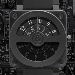 Bell & Ross introduce the BR 01-92 Compass. Gorgeous!