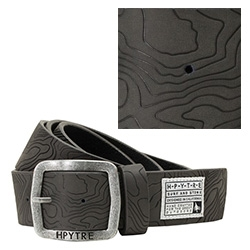 HippyTree Trailhead Belt ~ nice use of topography debossed into leather.