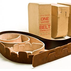 Buckleless Belt, the ~Elt is an exploration in removing the function from the function.