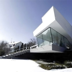 House R by Bembé Dellinger Architects in Schondorf, Germany.