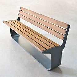 Areaworks' L-series Bench Series by Geoffrey Lilge