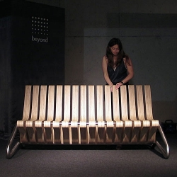 Coffee Bench by Serwantka.Designed by polish designer, Karolina Tylka and produced in Poland.