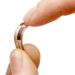 The Bend Sensor from inventibles is a tiny sensor that detects bending, movement, vibration, humidity, and more.