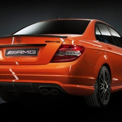 AMG promises a newly added pearl orange color which is custom to only AMG vehicles, available exclusively on the C63l