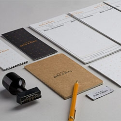 Heydays developed the visual identity, complete with stationery, packaging and online shop for Berg & Berg.