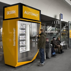 Berlin's iconic design store Berlinomat offer a rather refreshing upgrade for the humble vending machine with their new 'Design Vending Machine'....
