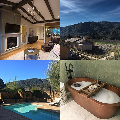 A peek into the new Villas & Suites at The Bernardus Lodge & Spa in Carmel, CA. Tucked between the luscious vineyards, we had a relaxing getaway with beautiful views, delicious wine, an epic copper tub, bocce ball, infinity hot tub and more...