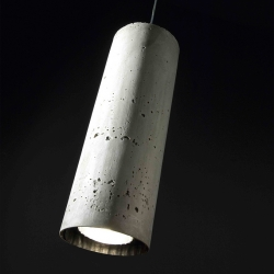 I love that concrete look: Concrete Tube from Wever & Ducré.