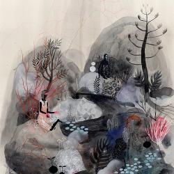Beautiful drawings by Betsy Walton.