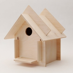Box for the Birds, flatpack birdboxes that are part of the Michael Oliveri Studio.