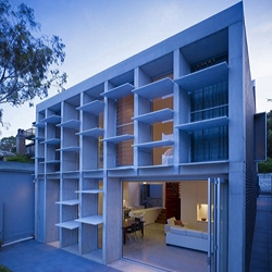 Carter Williamson Architects have designed the Balmain House in Sydney, Australia.