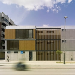 Library and center for elderly people, Zaragoza - Spain, Carroquino | Finner Arquitectos