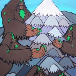 I-Path creative director, and illustrator, Bigfoot shows new work.