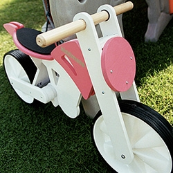 Kiddimoto, awesome wooden bikes for kids.