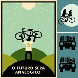 Awesome bicycle posters.