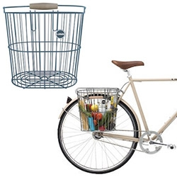 Linus Bikes' Rear Wire Basket - inspired by vintage New England clam baskets!