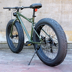 Vanguard Bike's latest offering from their Spring 2014 collection. The Isaiah All Terrain Fat Bike.