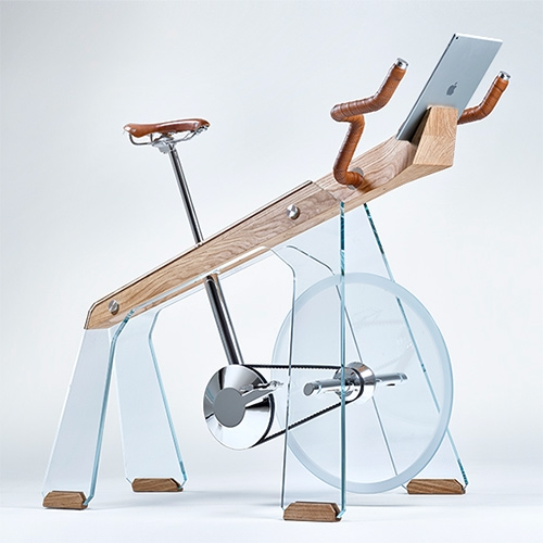 "Adriano Design FUORIPISTA ""Collezione SaloneSatellite 20 anni"" - a new interpretation of the exercise bike"