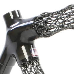 Ultra-light (and see-through!) carbon fiber frame bikes using IsoTruss® grid structures. Amazingly strong, light, and cool looking. From Delta 7.