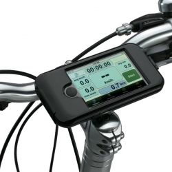 Finally a waterproof iPhone Bike Mount. The BioLogic Bike Mount from Dahon.