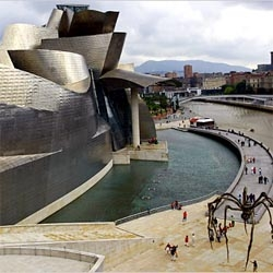 i swooned at the image of the gehry's guggenheim bilbao the first time, but have yet to make it to the city.  definitely top of the to do list though!