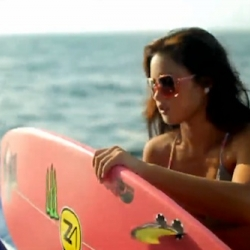 2 Billabong Surf-Girls Videos: Maldives video teaser in promotion of Billabong's Surf Capsule collection with Billabong girls global surf team riders plus video diary entry from Billabong model/surfer & singer/songwriter Catherine Clark.