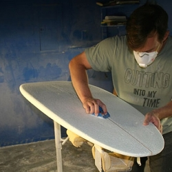 Biofoam surfboards production of the future