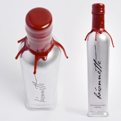 Absinthe bottle design by Kjetil Olstad