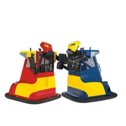 Bionic Bopper Cars, motorized boxing machines.