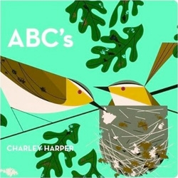 Charlie Harper's ABCs ~ adorable gorgeous book of classic illustrations in board book form!