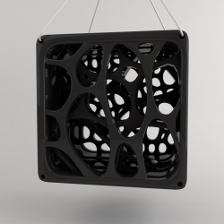 organic forms incorporated into the design of a birdhouse, focuses on customization by the user. Designed by Jordi Rabal