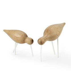 Normann Copenhagen Shorebirds - made of Oak & Lacquered Steel
