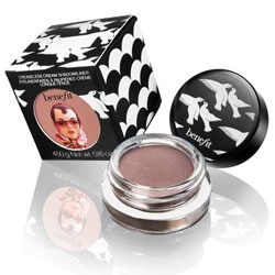 On my bird theme, nice black and white birdy graphics on the packaging for Benefit's new creaseless cream shadow/liners