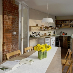 Carbon neutral home in a remodeled 1840s terrace house in Birmingham, England.