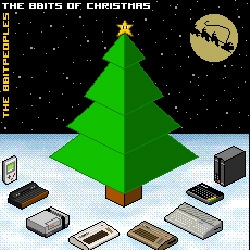 The 8bitpeoples - The 8bits of Christmas ~ i'm not a big xmas music person AT ALL, but these are amazing... i can just imagine pixel santa dancing on rooftops with his pixeldeer...