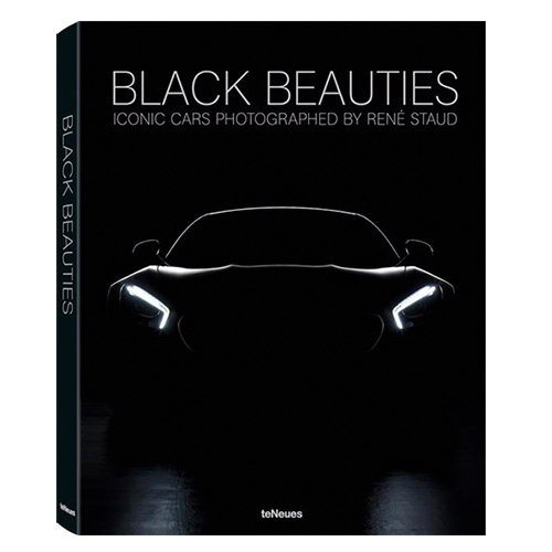 "Black Beauties by Photographer René Staud. Staud shows us a series of historic cars painted in the ""color"" of classical elegance and sporty power."