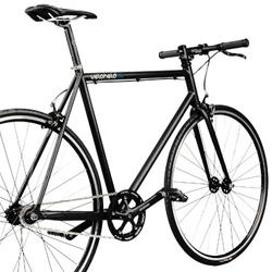 ...also Germans can build nice Singlespeed/ Fixed-Gear Bikes. VELOHELD - consistent reduction for urban riding!