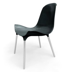 Seashell-inspired chairs by Blanc & Reed, the same guys who brought you the CL Sound Machine! (See .org #493)