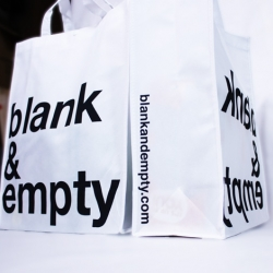 check out the new bag from blank&empty!