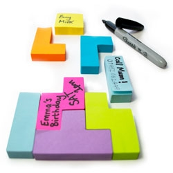 Block Notes from SUCK UK, tetris style post its for endless office procrastination!