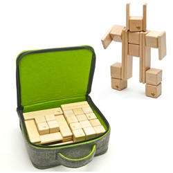 Tegu Magnetized Block MEGA Set - fun that they have a nice carrying case as well! Great for kids... or desk/coffee table toy!