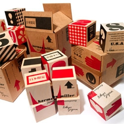 House Industries makes some gorgeous blocks for Herman Miller Japan! The packaging by Advance Packaging is beautiful!