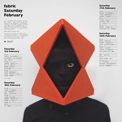 One of a striking series of posters for the Fabric nightclub which are among work chosen for this year's Creative Review Annual