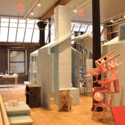 Another preview of the new Droog store in Soho.  Opens today.