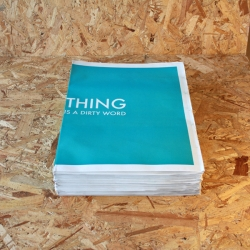 'Thing Is A Dirty Word' by Product Design graduates at Glasgow School of Art.