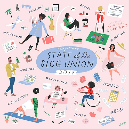 Design*Sponge's State of the Blog Union 2017 is a look back at where things started 13 years ago followed by an insightful look at what it takes to make things work in today's digital world (from both editorial and financial perspectives.)