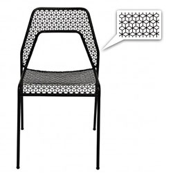 Nice pattern on Blu Dot's new Hot Mesh Chair