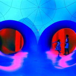 A new experience of light and color from the Architects of Air and their stunning Luminaria.