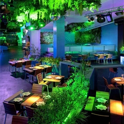 The Blub Lounge Club by Elia Felices Interiorismo in Barcelona, Spain.